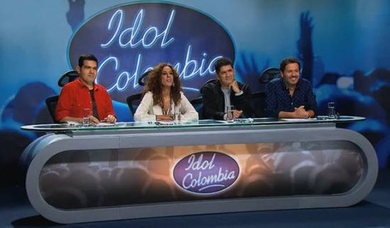 Idol colombia primera temporada - Jurados