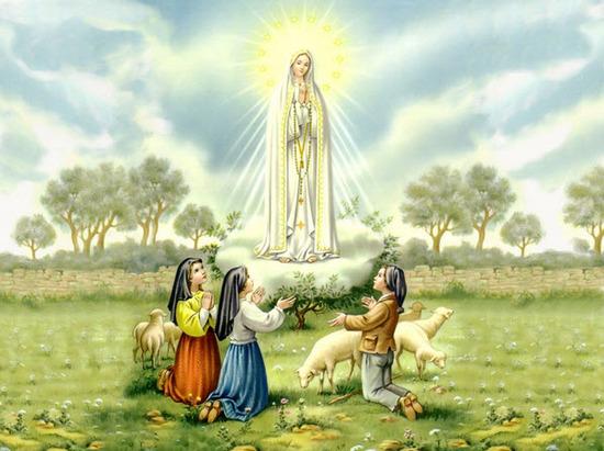 Aparición de la Virgen de Fátima el 13 de mayo