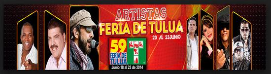 Ver artistas que se presentan en la feria de Tulua