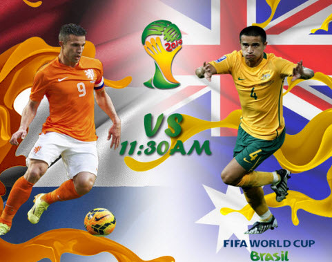 Copa mundial | Grupo B: Australia vs Holanda
