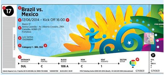 entradas al mundial de futbol brasil 2014