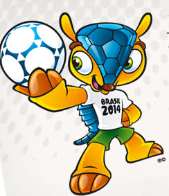 Mascota oficial del mundial de Futbol 2014
