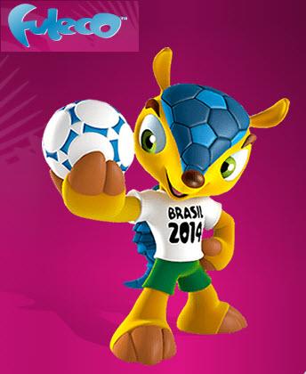 Fuleco mascota oficial del mundial de futbol brasil 2014