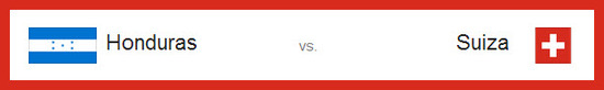 Partidos de hoy miércoles 25 de junio de 2014