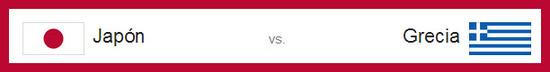 partido en vivo japon vs grecia el 19 de junio de 2014