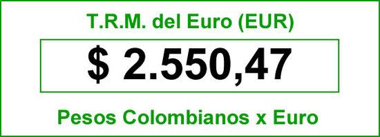 Ver trm euro para el 2014-06-2014 - Precio del Euro