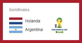 Semifinal: Argentina vs Holanda