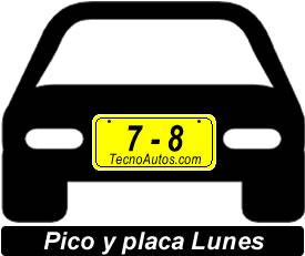 Pico y placa para el lunes en cali a partir de julio de 2014