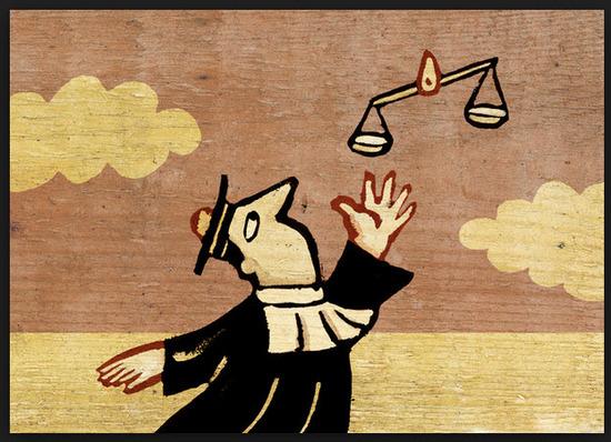 Tarjetas y postales del dia del abogado 2014