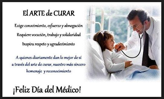 En México se celebra el 23 de octubre el día del medico 2014