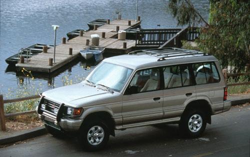 Ficha técnica Mitsubishi Montero Standard ensamblado 1996