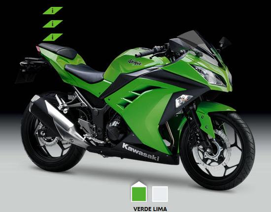 moto kawasaki ninja 300 modelo 2014 colombia