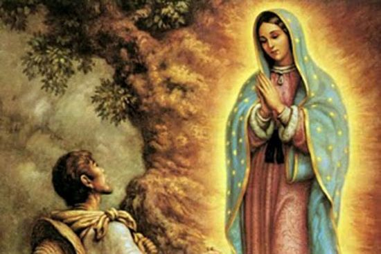 imagen día de la Virgen de Guadalupe y Juan Diego