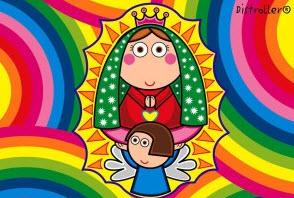 Hoy es el día de la Virgen de Guadalupe