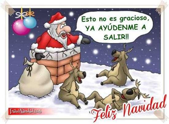 Imágenes de navidad graciosas para compartir en redes sociales