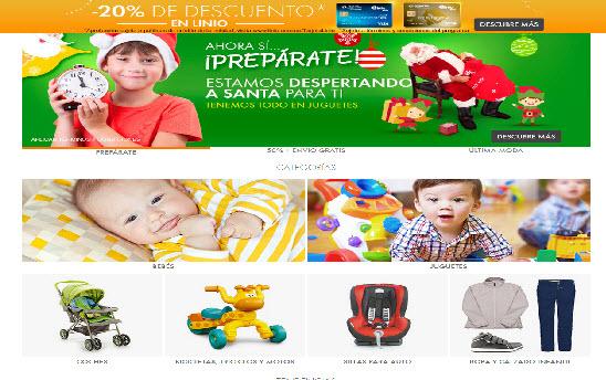Linio.com descuentos en compra de productos