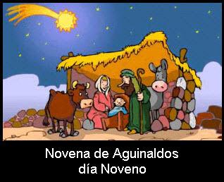 Novena de aguinaldos, día Noveno