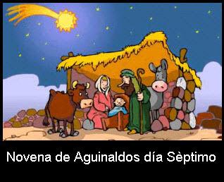 Novena de aguinaldos, día Séptimo