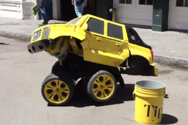 video transformer el hombre carro de new orleands