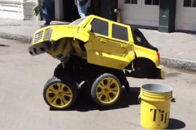 video transformer el hombre carro de new orleands