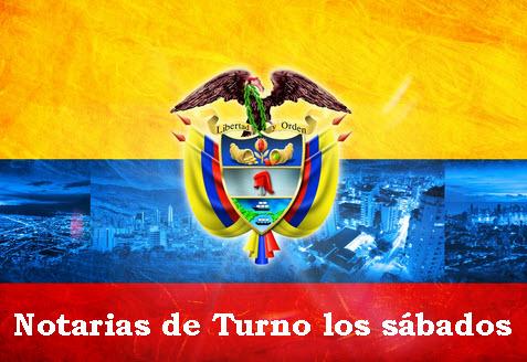 Notarias de turno en Colombia
