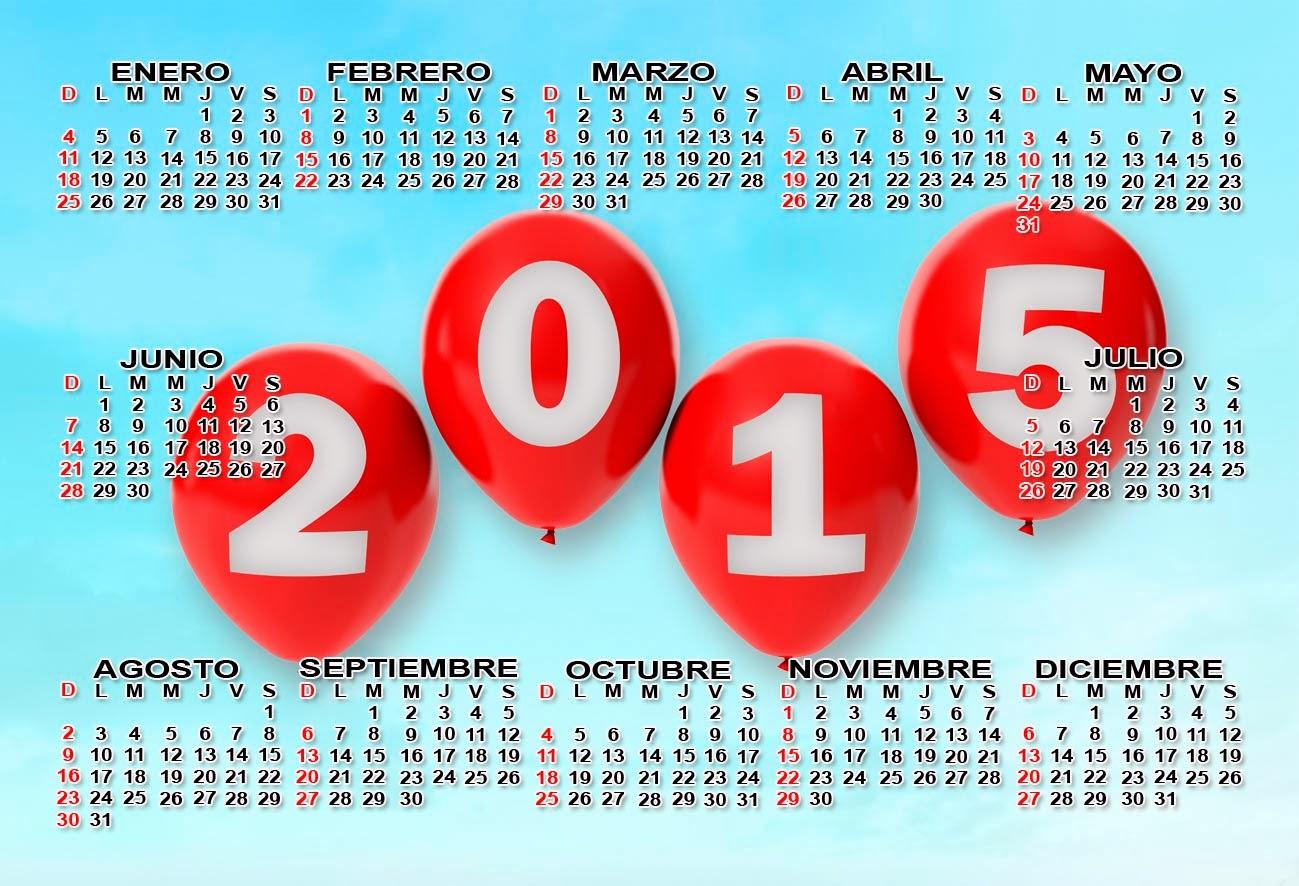 Calendario 2015 –  Colombia