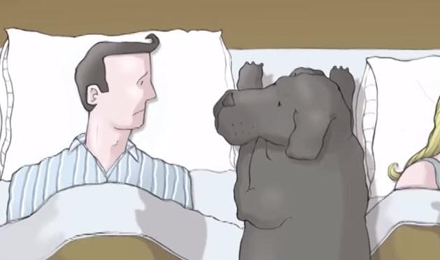 Te sientes triste y no sabes que es la depresión? El perro negro te enseña.