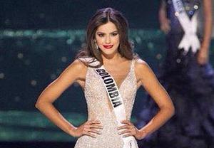 Paulina vega Miss mundo 2015 es Colombiana