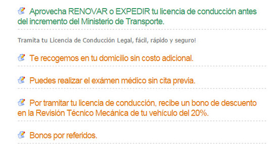 tramita tu licencia de conduccion legal en cali