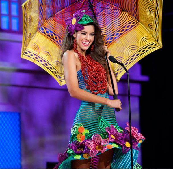 Traje de Paulina Vega Miss Mundo 2015