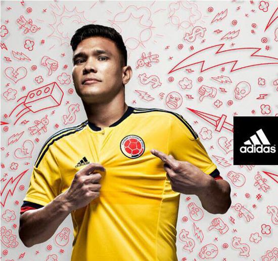 Camiseta Selección Colombia 2015