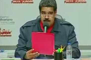 """Maduro y su nueva 'perla': """"liceos y liceas"""""""