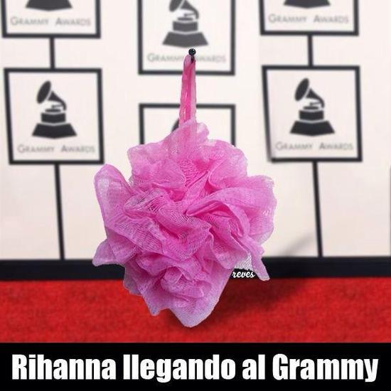 Vestido de Rihanna