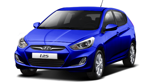 hyundai colombia i25 hatchback 2015 color azul