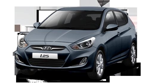 Hyundai Colombia i25 Hatchback 2015
