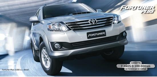 Toyota Fortuner Plus diesel 2015
