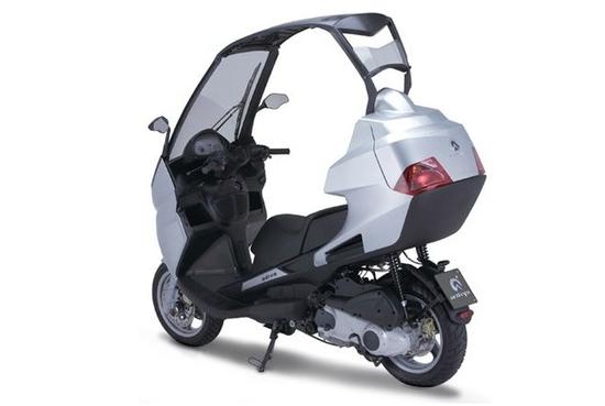 Ficha técnica de la moto scooter Adiva AD 125