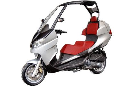 Ficha Técnica: Scooter Adiva AD Cabrio 125