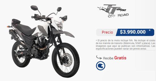 Precio-AKT-150-tt-r