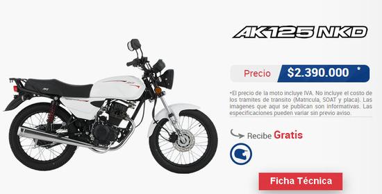 Precio-AKT-AK-125-NKD