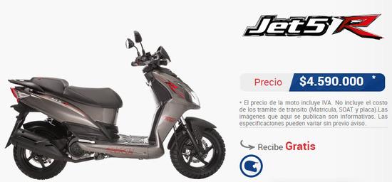 Precio-moto-akt-jet-5-r-150