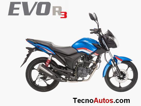 Ficha técnica: AKT EVO R3 125 CC