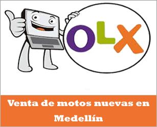 OLX Colombia, venta de motos nuevas en Medellín Antioquia