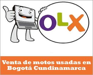 OLX Colombia, venta de motos usadas Honda en Bogotá