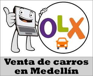 OLX Colombia, venta de carros usados en Medellín Antioquia