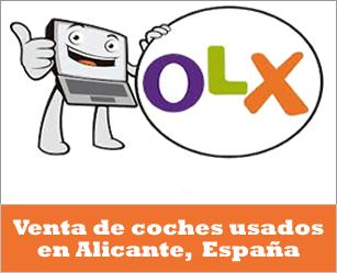 OLX España, venta de coches de segunda mano en Alicante España
