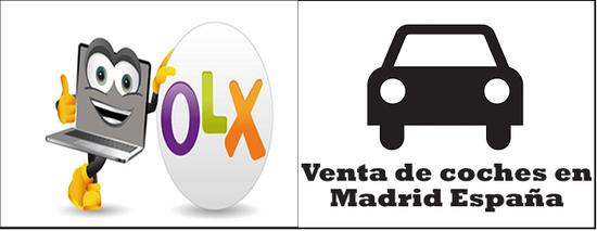 OLX venta de coches usados en Madrid España