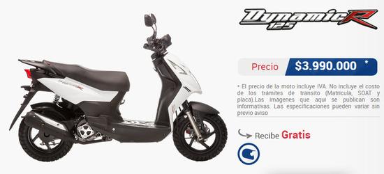 precio-moto-akt-dynamic-125-r