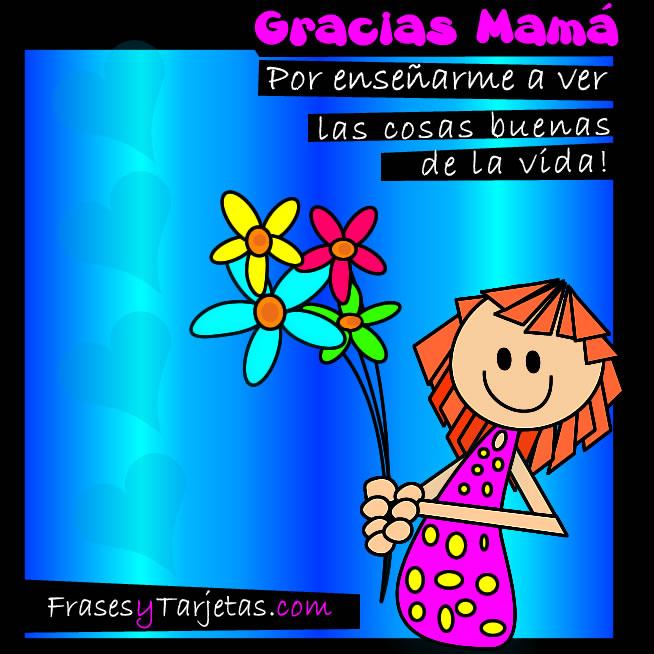 Feliz día de la madre feliz