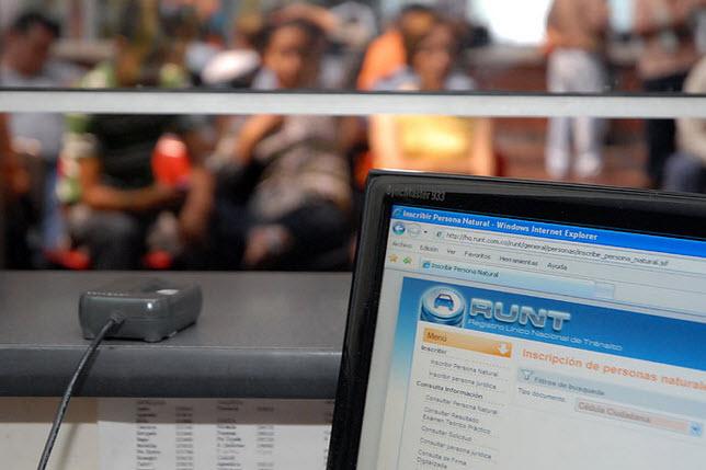 Nuevas tarifas del RUNT para tramites 2015